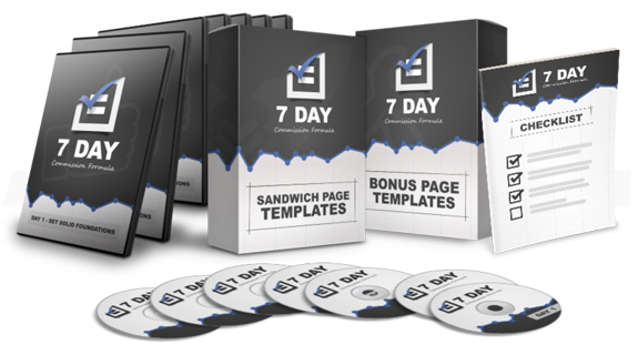 7 Day FB Commission Formula INSTANT DOWNLOAD By Mario Brown