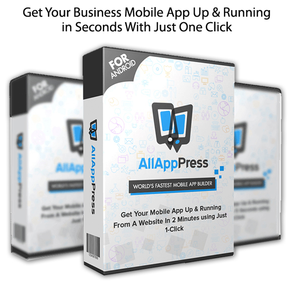 All App Press INSTANT Download Mobile APP Builder
