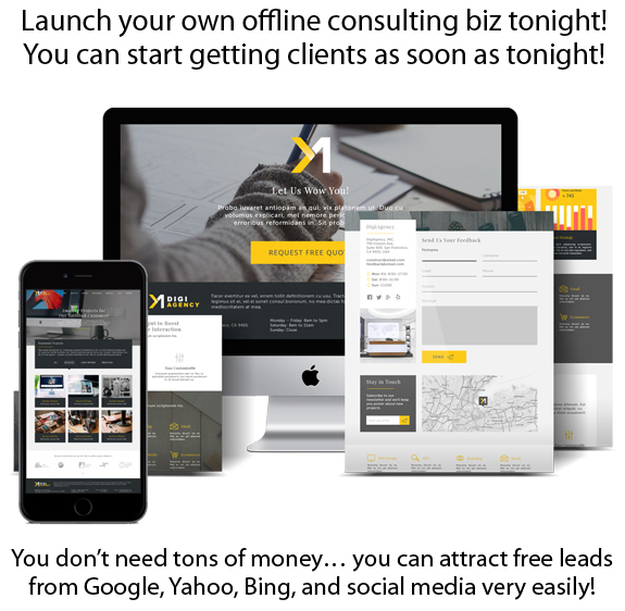 Digi Agency WP Theme INSTANT Download For Offline Consulting