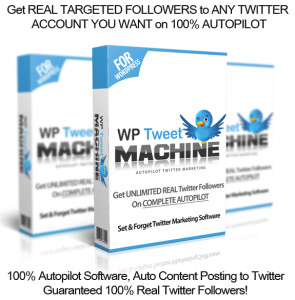 Download Now WP Tweet Machine NULLED 100% Working!!
