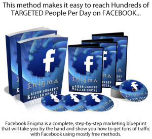 Facebook Enigma INSTANT Download FULL Training and PDF