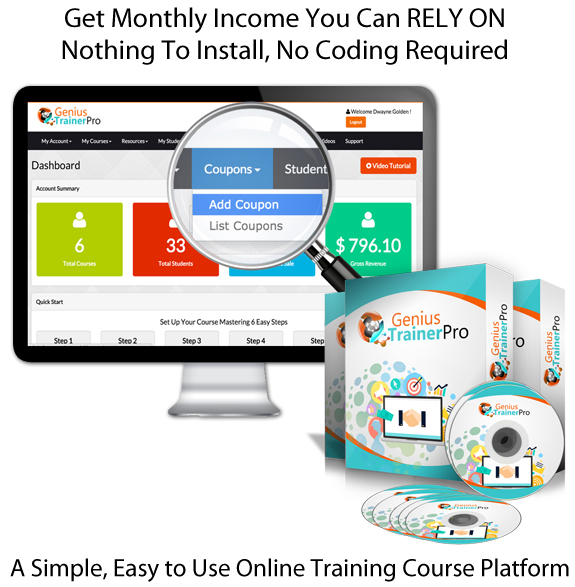 INSTANT ACCESS Genius Trainer Pro 100% Working Training System