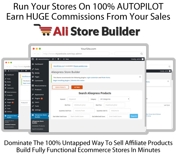 INSTANT DOWNLOAD Ali Store Builder Software 100% WORKING!!