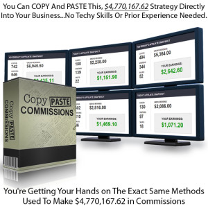 INSTANT DOWNLOAD Copy Paste Commissions FULL Video & PDF