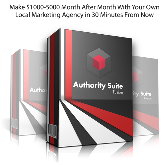 Instant Download Authority Suite Fusion DFY Package