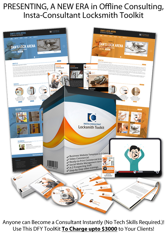 Instant Download Insta Consultant Locksmith Toolkit
