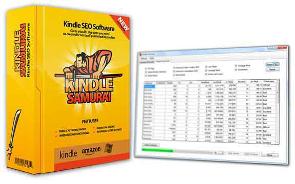 Kindle Samurai Kindle SEO Software CRACKED 100% WORKING!!