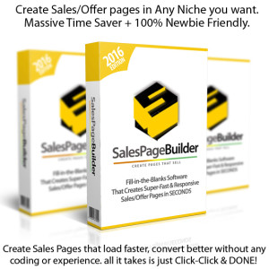 Sales Page Builder INSTANT DOWNLOAD Unlimited License