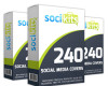 SociKits Matching Social Media Cover INSTANT DOWNLOAD