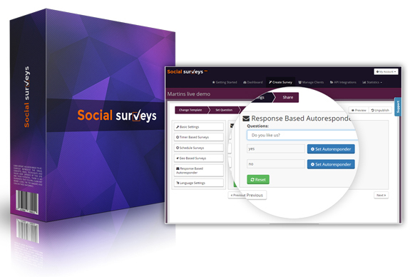 Social Surveys Software By Martin Crumlish INSTANT Download