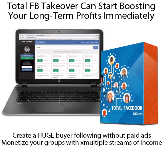 Total FB Takeover INSTANT Download Software and Training