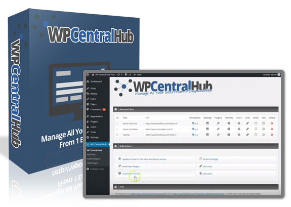 WP Central Hub 2.0 Plugin NULLED 100% WORKING!!