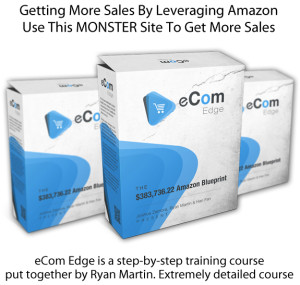 eCom Edge Blueprint INSTANT Download ALL Modules By Ryan Martin