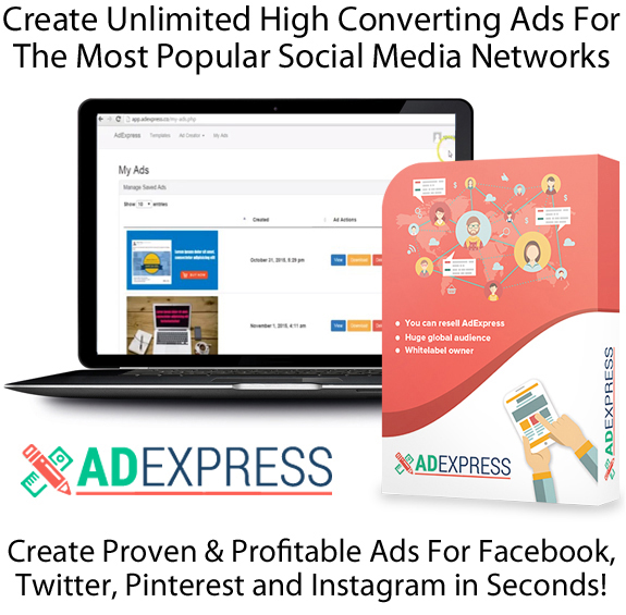 AdExpress Software Pro FULL LIFETIME ACCESS 100% Working!!