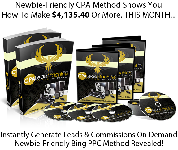 CPA Lead Machine Pro INSTANT DOWNLOAD All Module PDF & Video