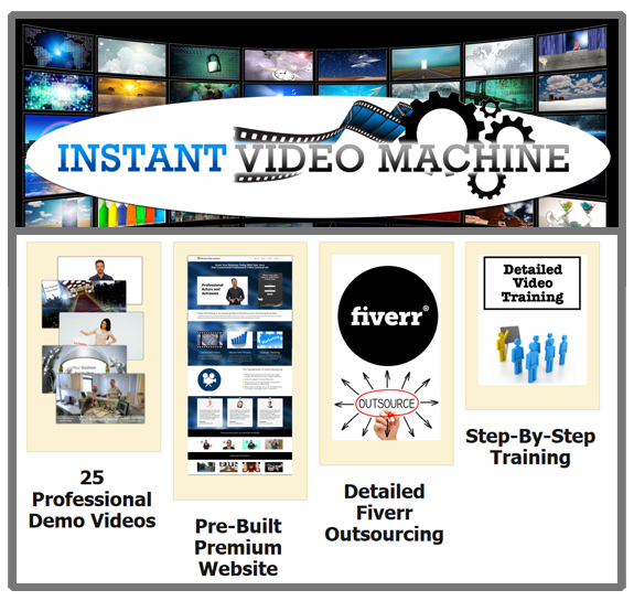 Instant Video Machine DIRECT Download Ready To Use!