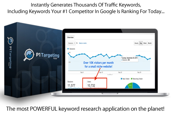 P1 Targeting APP LIFETIME ACCESS Forever!