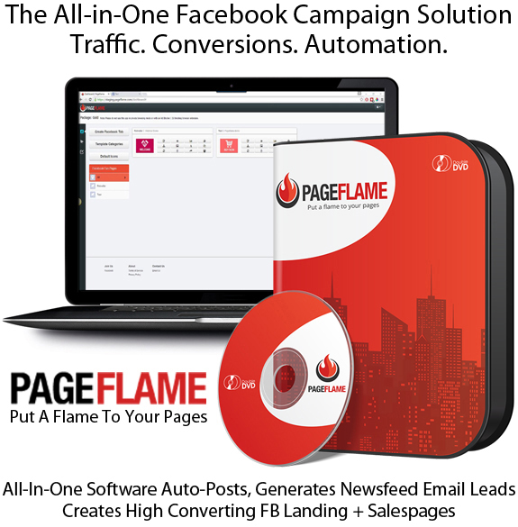READY To Download PageFlame Software UNLIMITED LIFETIME!