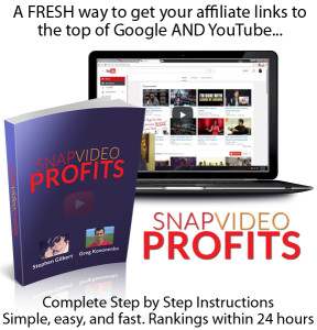 Snap Video Profits INSTANT DOWNLOAD COMPLETE Training