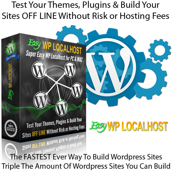 Easy WP Localhost INSTANT DOWNLOAD Unlimited License