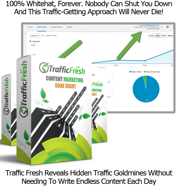 Traffic Fresh Software UNLIMITED ACCESS Traffic Generator Software