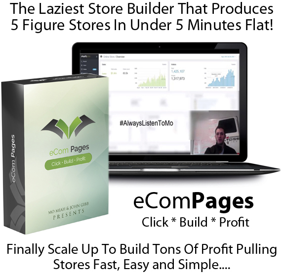 eCom Pages Pro Best Online Store Builders! Lifetime ACCESS!