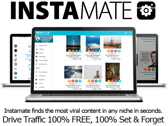 Download Instamate Software To Get High Traffic Times On Instagram