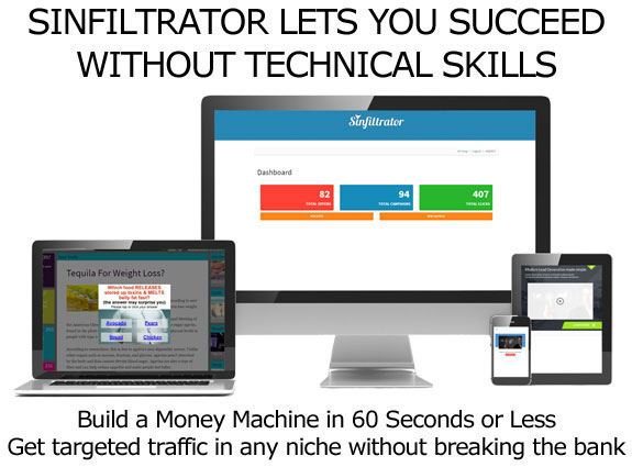 Download Sinfiltrator Software LIFETIME ACCESS Unlimited License!