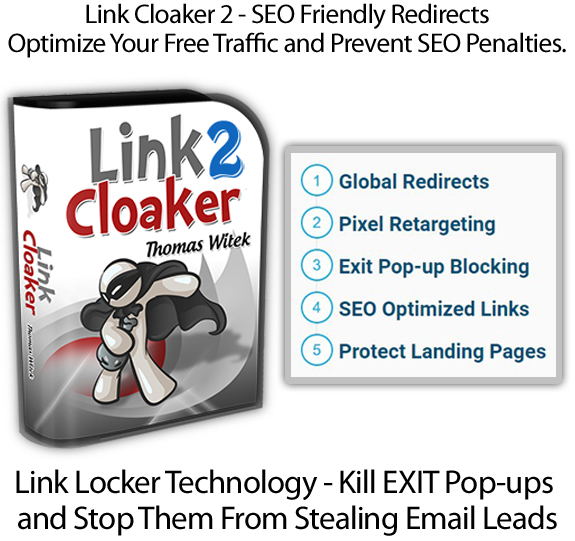 Link Cloaker 2 WP Plugin By Thomas Witek INSTANT DOWNLOAD