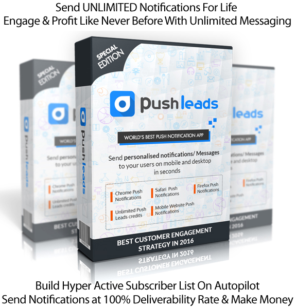 Push Leads Software Build & Monetize YOUR Social Network