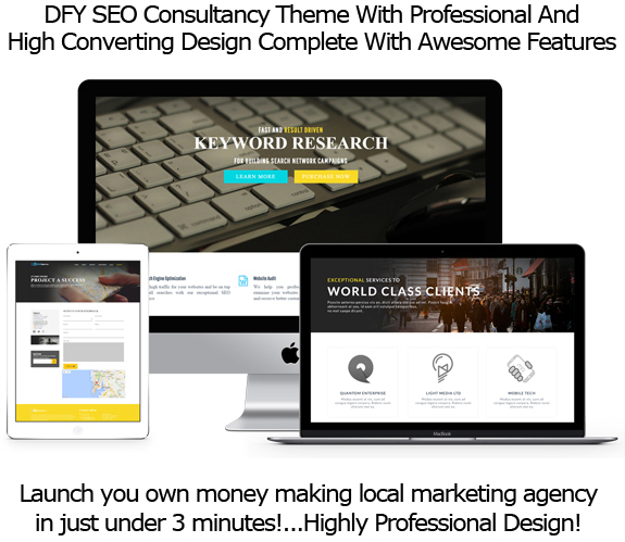 SEO Agency WP Theme LIFETIME ACCESS By Robert Phillips