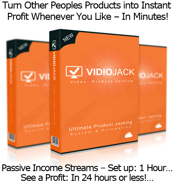 VidioJack Ready To Download Software and Training LIFETIME ACCESS!!