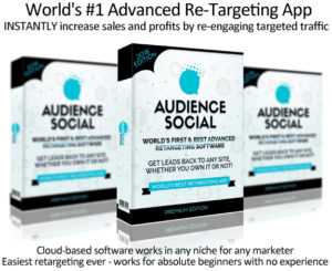 Audience Social Software LIFETIME Access! Unlimited License