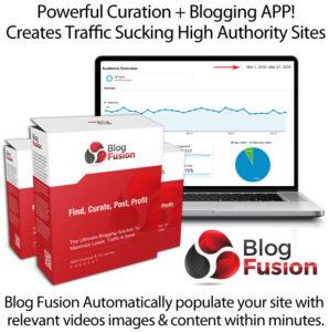 BlogFusion Blogging APP Instant Download By OJ James