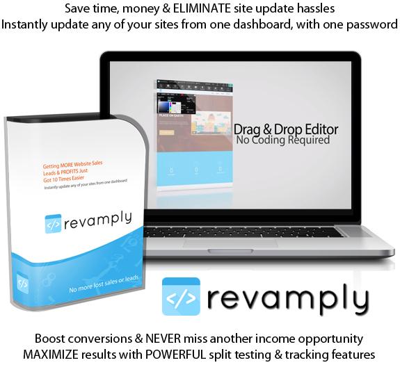 Revamply Software Full License By Sam Bakker Lifetime Access