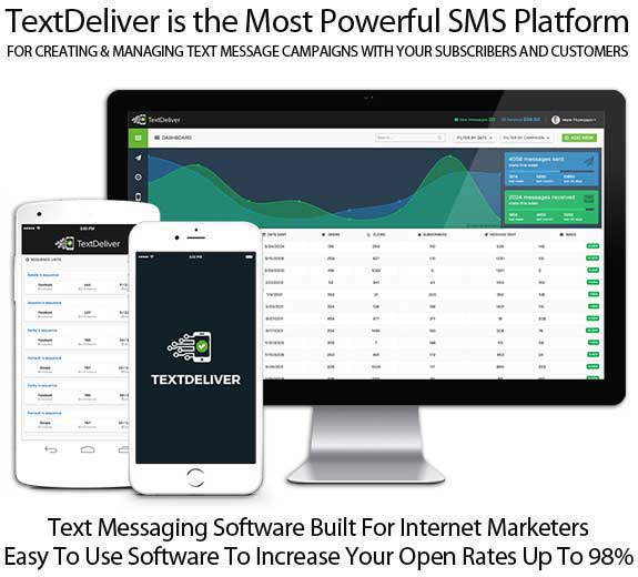 TextDeliver Automated Text Messaging Software Lifetime Access