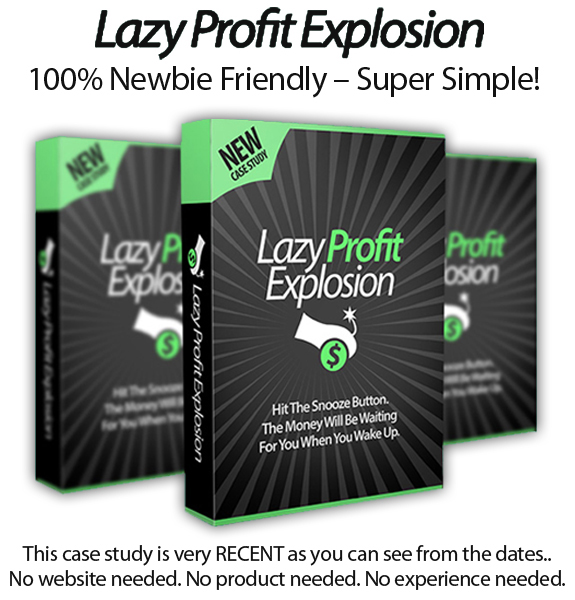 Lazy Profit Explosion Free Download By Declan & Spencer