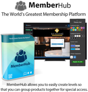 MemberHub Annual Licence Lifetime Access By Chad Nicely