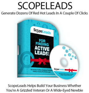ScopeLeads Software Pro Swipes Instant Access By Todd Spears