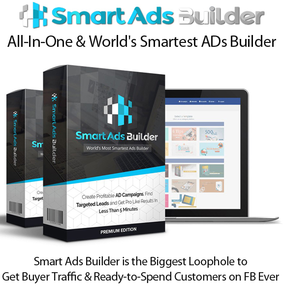 Smart Ads Builder APP Pro License Lifetime Access By Jai Sharma