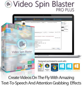Video Spin Blaster Pro Plus V2 Unlimited Instant Download