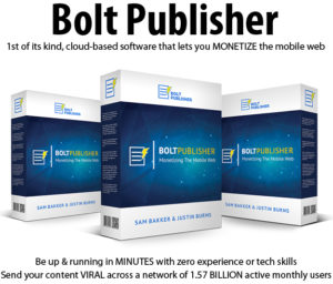 Bolt Publisher Personal License Instant Download By Justin Burns