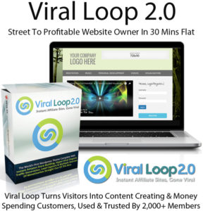 Direct Download Viral Loop 2.0 WordPress Theme By Cindy Donovan