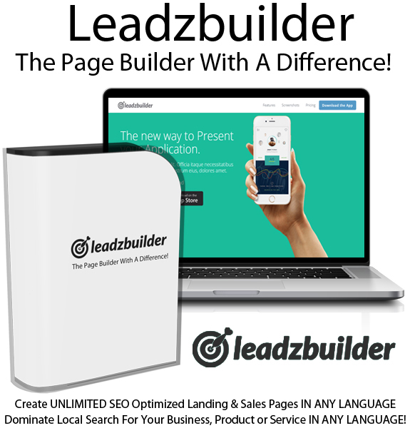 Leadzbuilder Page Builder Whitelabel License Instant Download