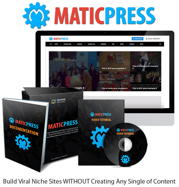 MaticPress WordPress Theme Unlimited License Direct Download