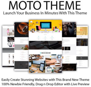Moto Theme Pro License Lifetime Access By Tantan Hilyatana