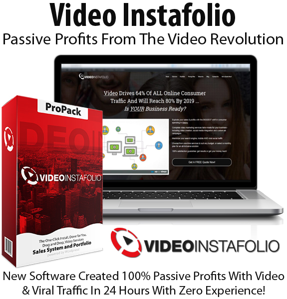 Video Instafolio Core License Instant Download By Simon Harries