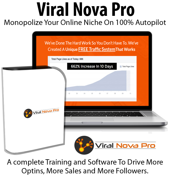 Viral Nova Pro Reseller Rights Instant Download By Jon Bowtell
