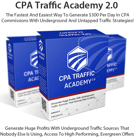CPA Traffic Academy 2.0 PRO Free Download By Marcus. C