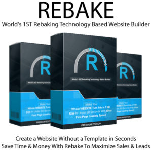 Instant Download Rebake App PREMIUM License By Jai Sharma